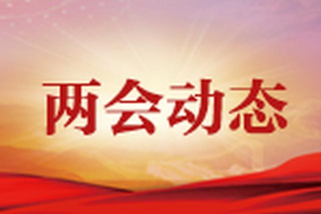3月14日:十三届全国人大二次会议审议各项决议草案
