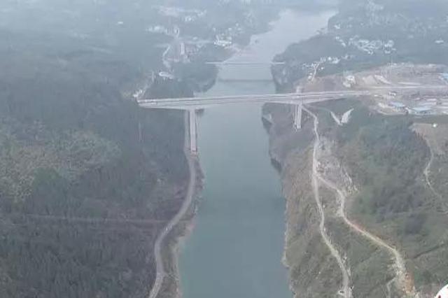好消息!酉水大桥建设试吊400吨重量,创下世界纪录