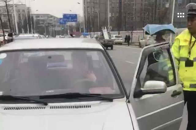 胆太大!常德一男子酒后驾车进交警大队处理违章被查