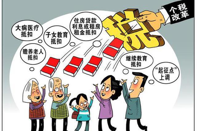 漫画:改革红利 新华社发 朱慧卿 作