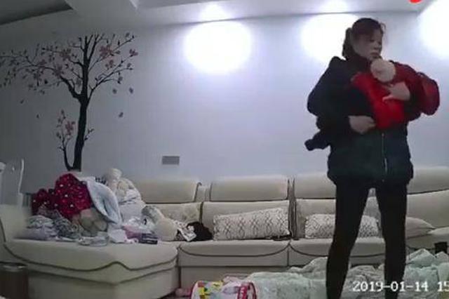 """网传""""长沙一保姆虐婴""""涉案保姆已被行拘"""