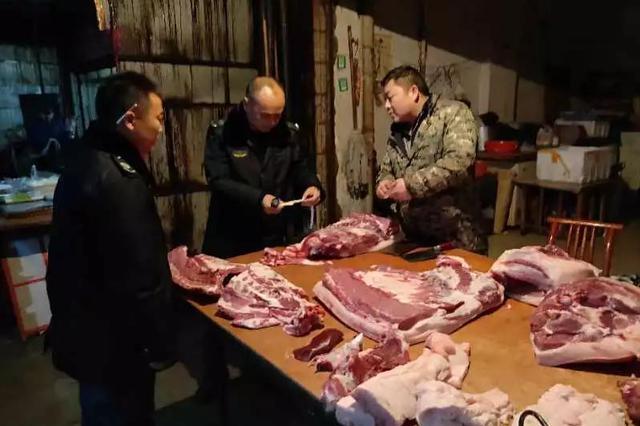 岳阳节后菜市怎么样?买肉时最好查验这个!
