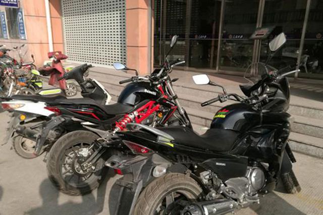 株洲渌口区:摩托车未上锁被盗 民警三日内寻回破案