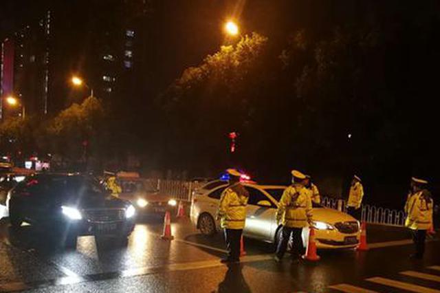 两位老同学聚会酒后驾车 双双被邵阳大祥交警查处