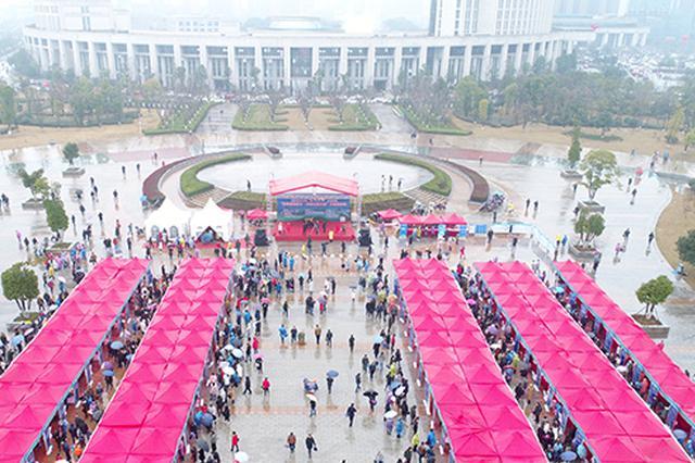 """长沙市""""春风行动""""吹拂大地:抓重点群体就业"""