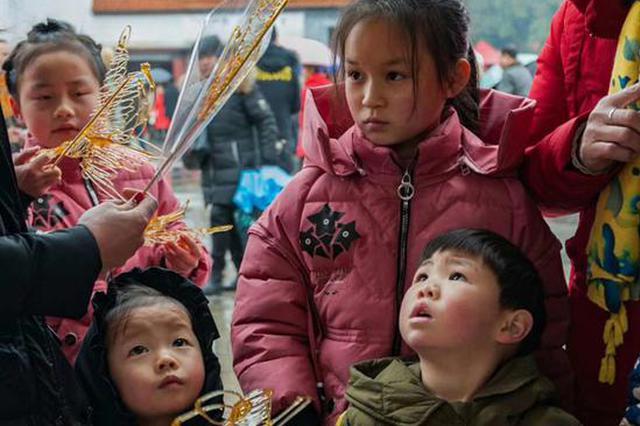 湖南长沙县:?梨陶公庙会年味浓