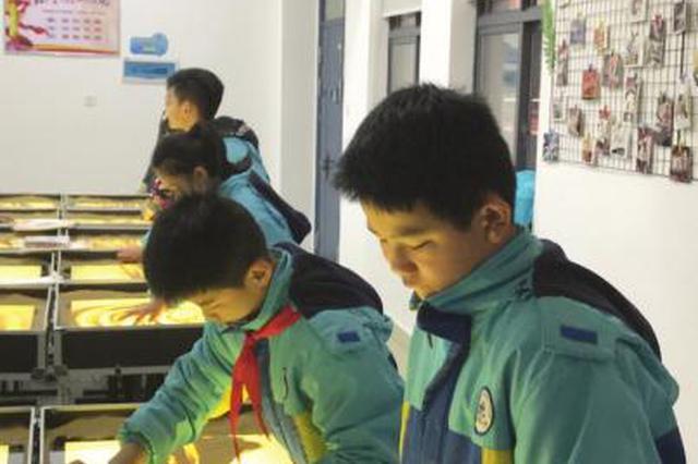 沙画课程首次进入湖南校园