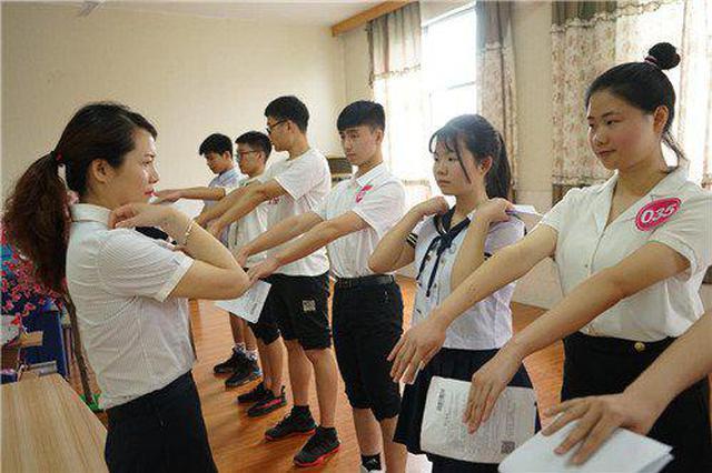 长沙航院单招考试场面火爆 在湖南省内率先实施贫困生计划