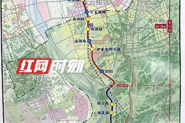 """长株潭融城按下加速键 """"三干""""走向及城轨西环线站点确定"""