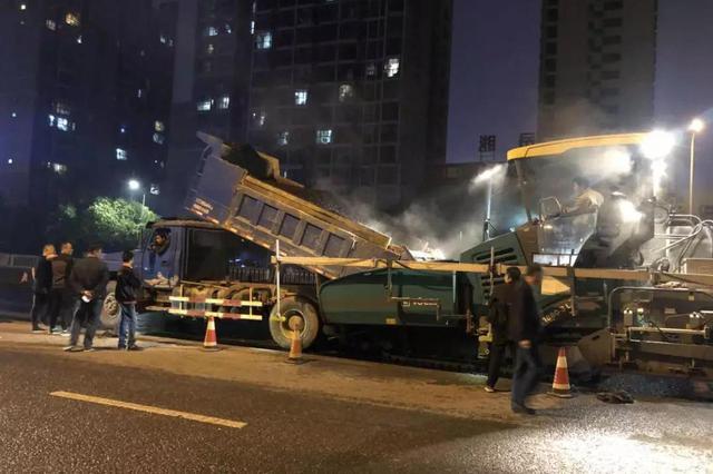 岳阳主城区部分道路正维修 这些地方半封闭式交通管制!