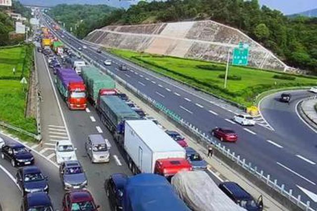 权威发布!五一小长假湖南高速公路车流总量达1318万辆