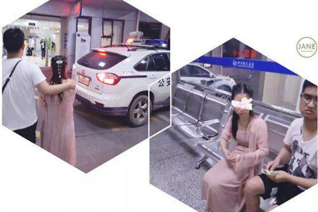 长沙女孩因情感问题跳桥 国防科大军官合力将其救下