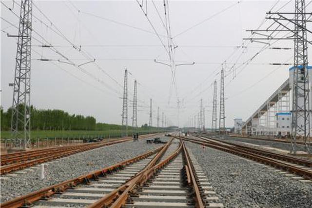 长江城陵矶港松阳湖铁路专用线正式开工建设