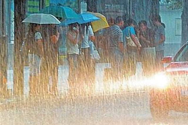 今天湖南多地有雨 局地有暴雨