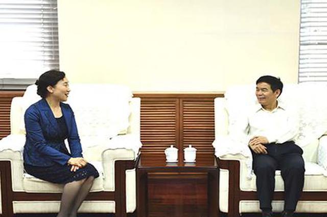 李微微赴北京师范大学调研:让学校科研更好服务社会