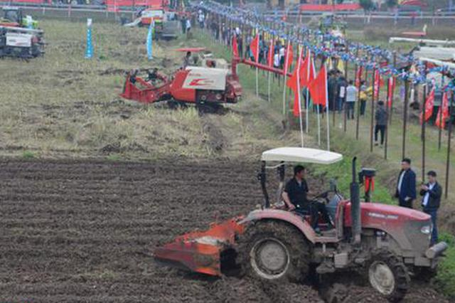 湖南:力争5年油菜主产县机械化全覆盖