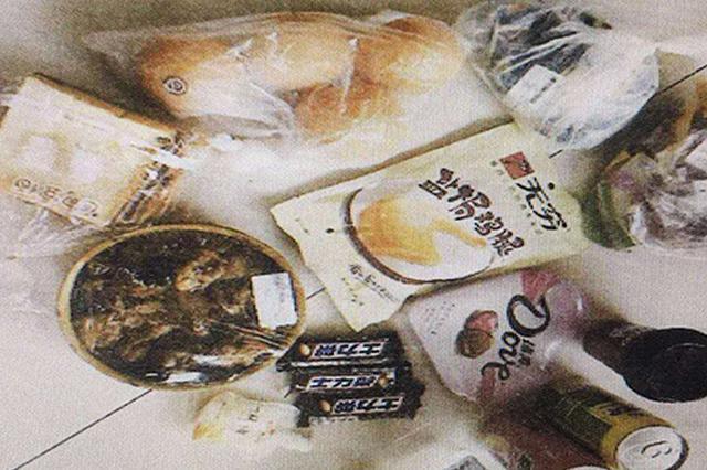 巧克力、牛肉干、火锅 长沙奇葩小偷背着书包到超市偷零食