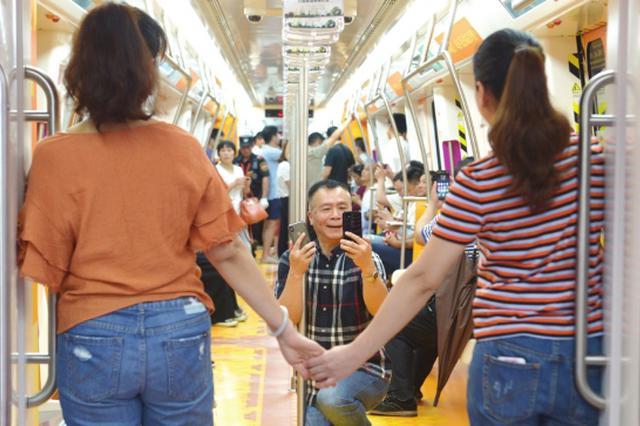 昨天长沙地铁4号线正式载客试运营