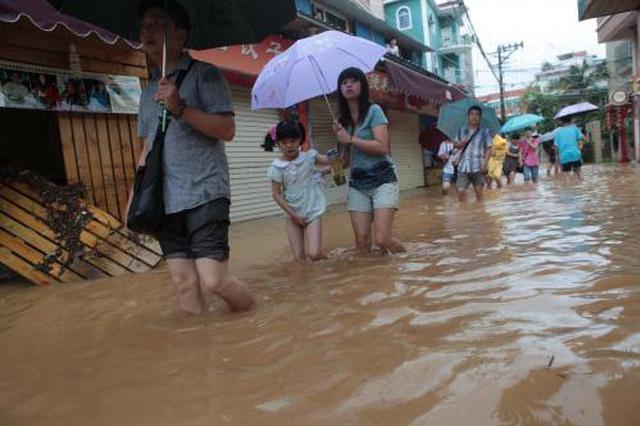 岳阳多处民房被淹 至少86人转移