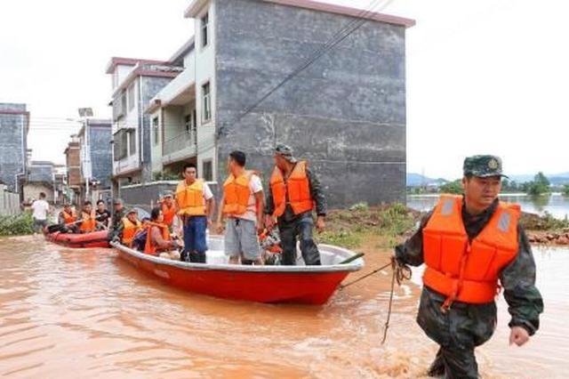 湖南今年来发生地质灾害410起 直接经济损失逾4800万元