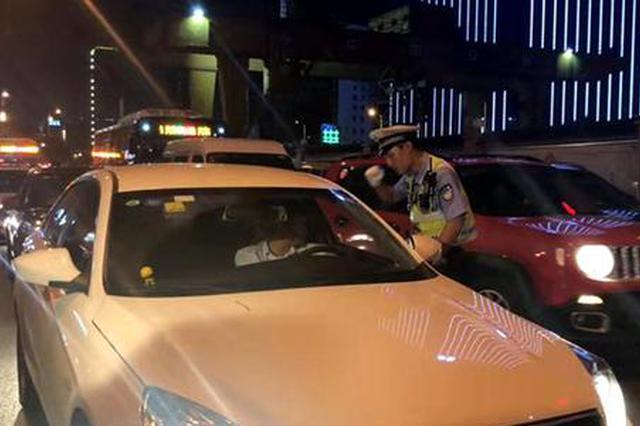 湖南出动警力6875人次 夜查交通违法16430起
