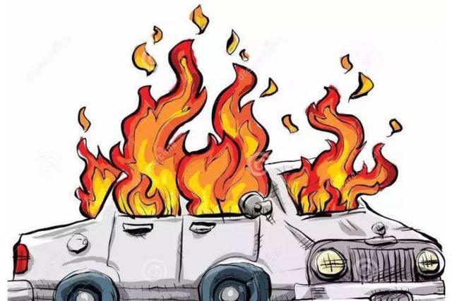 货车自燃 整车猪肉被烤熟