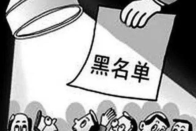 8月失信黑名单来了!这些湖南人将无法乘火车、坐飞机