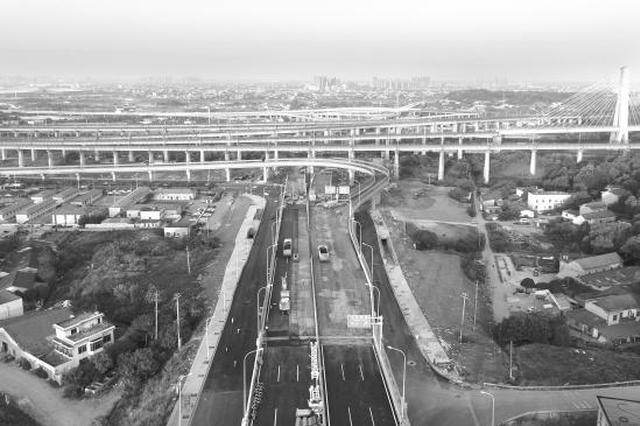 湘府路高架河东段月底通车 匝道对接花侯路直达长沙火车南站