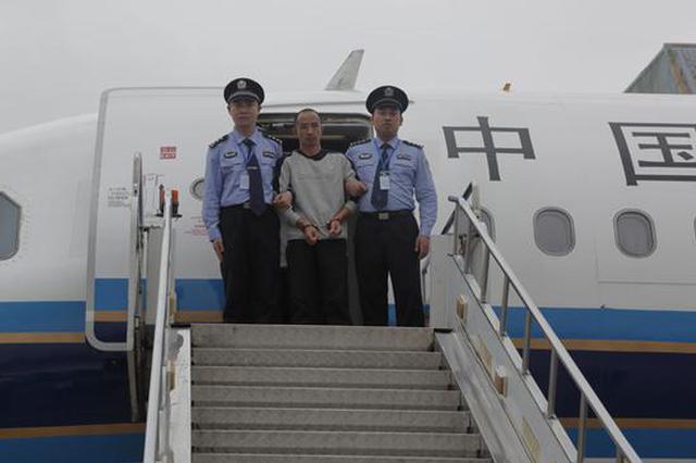 湖南外逃17年的职务犯罪嫌疑人戴跃兵被强制遣返回国