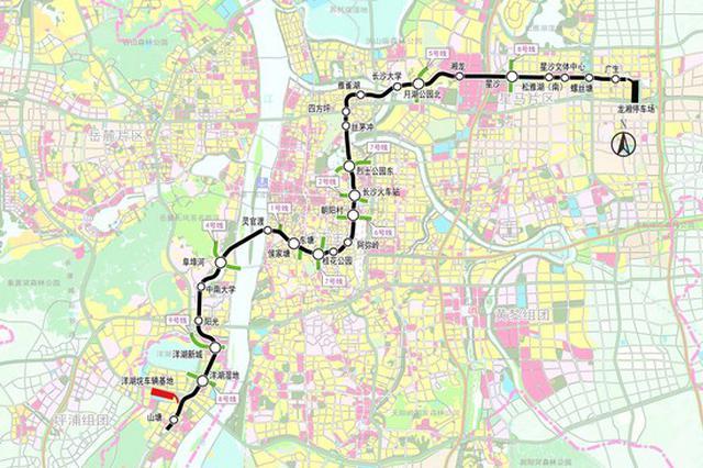 """长沙地铁3号线一期工程全线""""洞通"""" 明年7月试运营"""