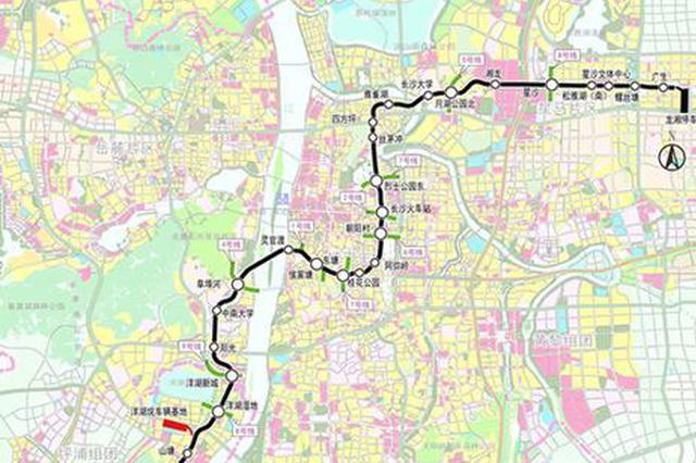 """长沙地铁3号线一期工程全线""""洞通"""" 明年7月初期运营"""