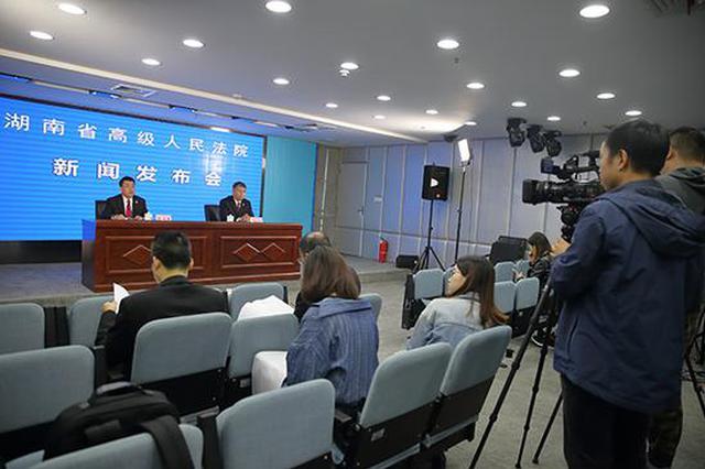 湖南法院宣判首起套路贷涉黑组织案 多家借贷企业受害破产