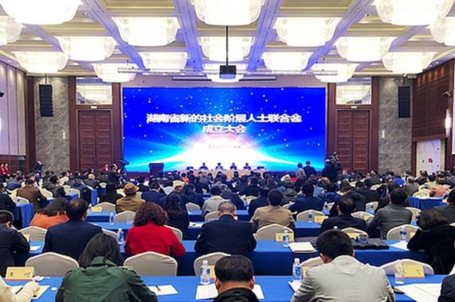 湖南省新的社会阶层人士联合会成立 新浪湖南总经理当选为副监