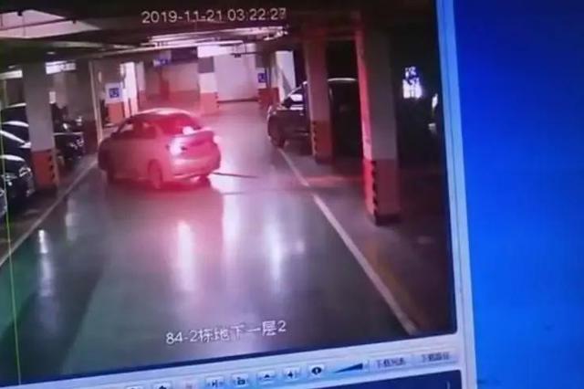偷车的都跑到地下车库来了?长沙阳光壹佰业主气得很!