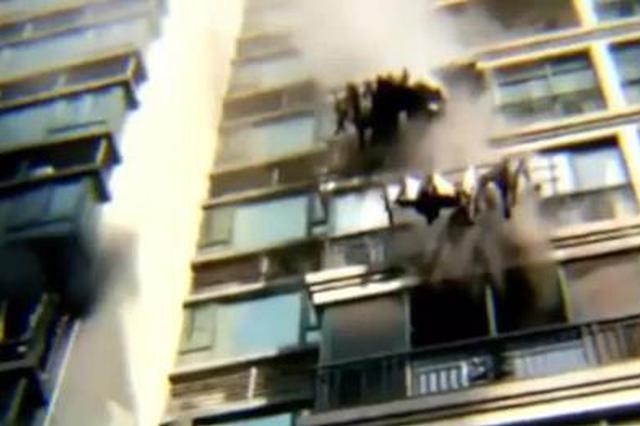 危险!为完成学校作业,长沙一学生家中独自做实验引发大火