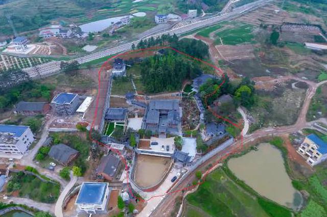 """湖南""""邵东第一豪宅""""申家大院被拆除 已建成7000多平米"""