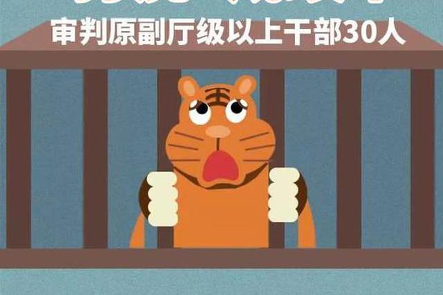 """湖南法院2019""""打虎""""成绩单!30名厅干受审!"""