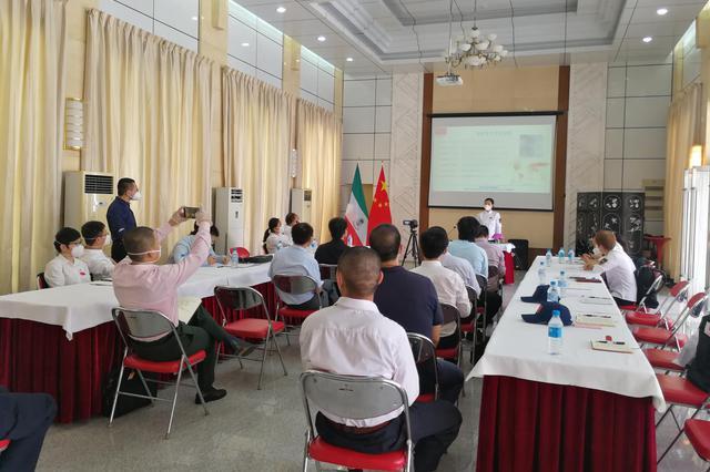 中国(湖南)医疗专家组为中国使领馆和侨胞防疫培训