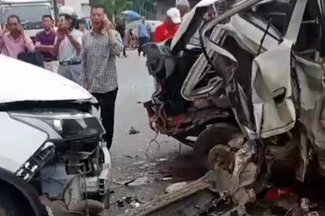 一轻型货车搭载20人发生交通事故,湖南省应急厅挂牌督办