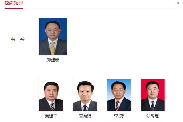 长沙市政府领导成员分工最新调整