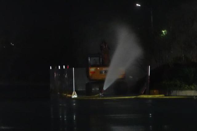郴州一工地发生燃气泄漏事故 未造成人员伤亡