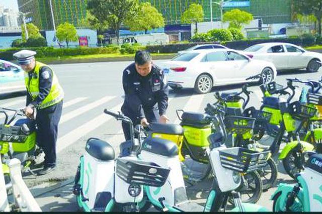 长沙46万共享电单车仅6万台有牌照