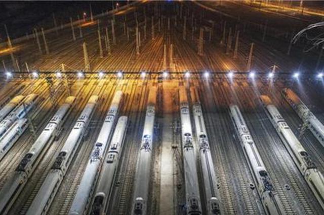 2021年全国铁路大调图 湖南增开旅客列车5对变更1对