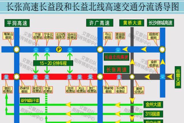 春节湖南高速流量将破亿,哪些道路有风险?怎么走才不堵?
