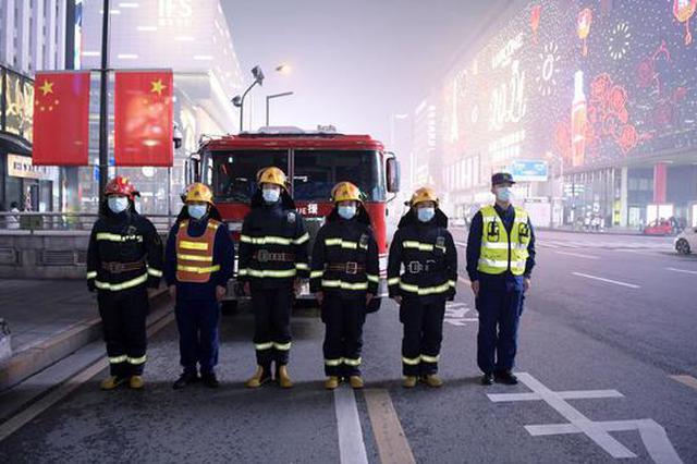除夕夜2300余名消防员守护长沙安然,24小时扑灭31起火灾