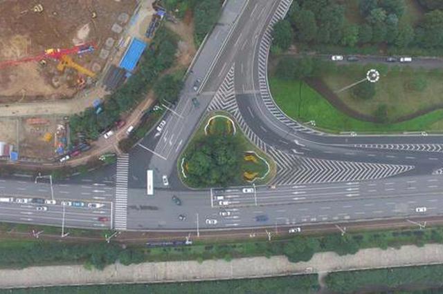 3月1日起,潇湘大道猴子石桥南匝道口将禁止左转