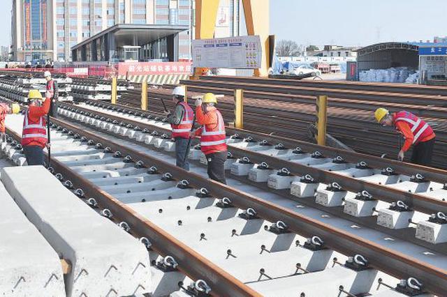 34座车站中31座已主体封顶 长沙地铁6号线年内实现洞通