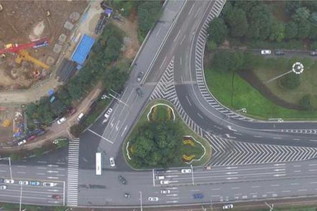 @长沙人,3月1日起潇湘大道猴子石桥南匝道口将禁止左转