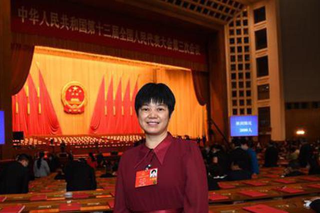 全国人大代表黄小玲。