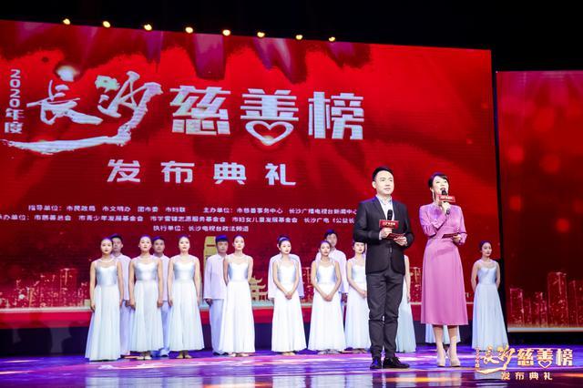 """善耀星城——2020年度""""长沙慈善榜""""发布"""